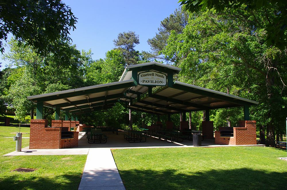 Image of Gartrell Nash Pavilion at Lilburn City Park